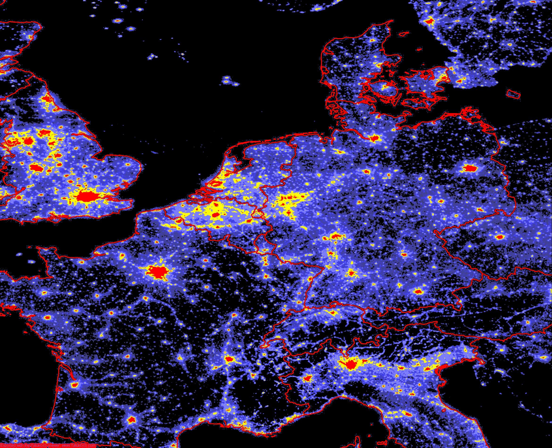 Lichtverschmutzung Karte Europa.Dark Sky Initiative Gegen Lichtverschmutzung