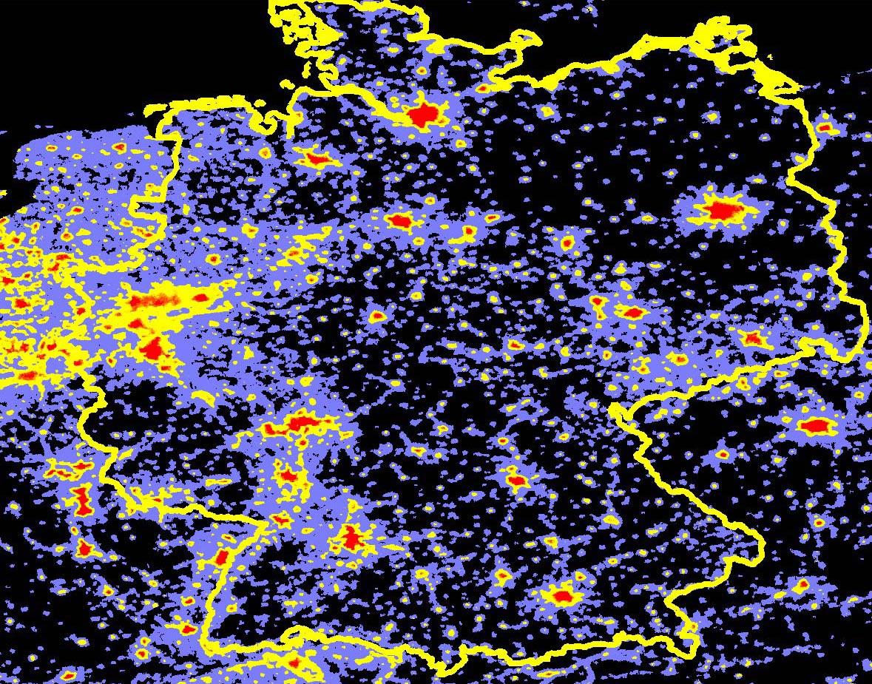 lichtverschmutzung deutschland karte Lichtverschmutzung Deutschland Karte | scoutingroncalli